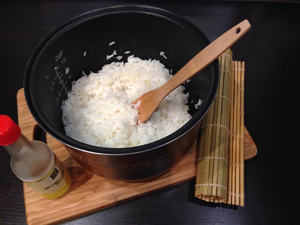 как готовить рис для суши в мультиварке