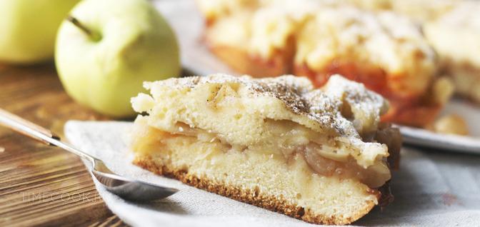пирог с яблоками в мультиварке редмонд рецепты с фото